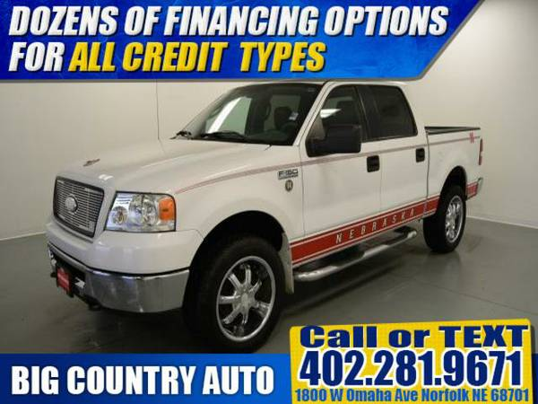 2006 Ford F-150 XLT Crew Cab Pickup SuperCrew 139 4WD