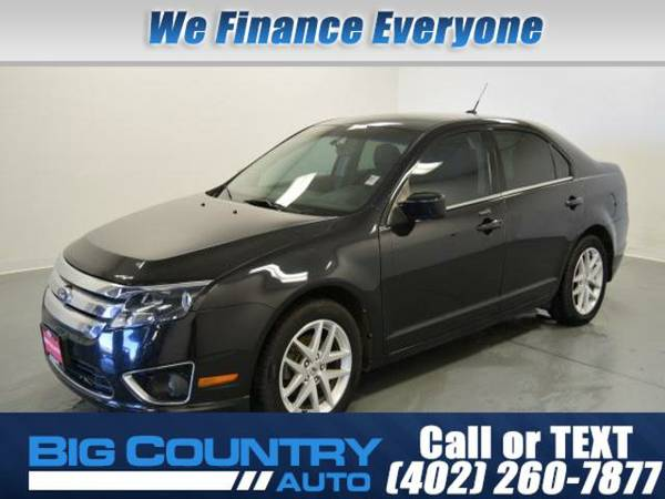 2012 Ford Fusion 4dr Sdn SEL FWD 4dr Car 4dr Sdn FWD