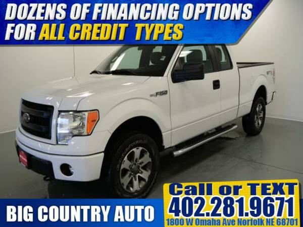 2013 Ford F-150 4WD SuperCab 145 Lariat Extended Cab Pickup 4WD...
