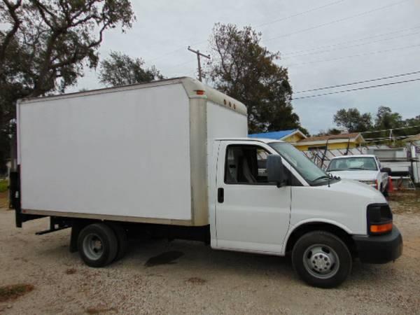 2008 Chevrolet Cutaway Box Van 100% Financing Available