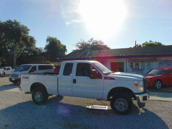 2013 Ford F-250 XL X-Cab FX4 4X4 100% Financing & Leasing Available