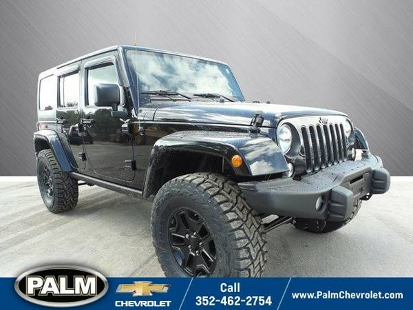 2016 Jeep Wrangler Unlimited Unlimited Sahara SUV Wrangler Unlimited...