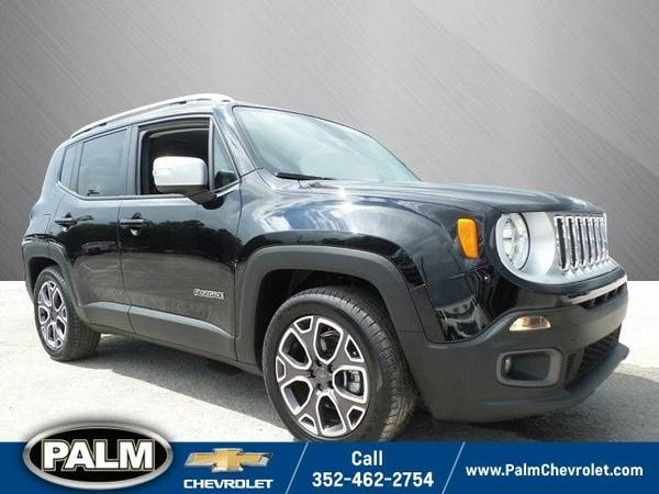 2015 Jeep Renegade Limited SUV Renegade Jeep