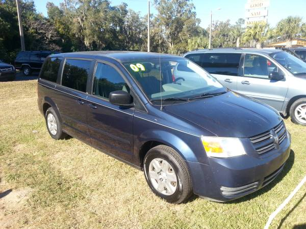 2009 DODGE GRAND CARAVAN SE MINI VAN 7 PASS.