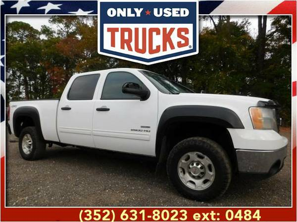 2010 *GMC Sierra 2500* SLE 4x4 Heavy Duty (8cyl, 6.6L, 365.0hp) WE...