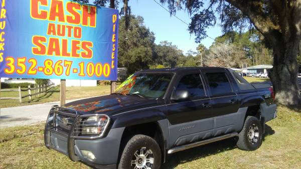 2005 CHEVY AVALANCHE LIFTED Z71 LOADED!