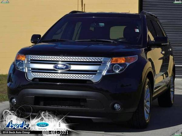 2013 Ford Explorer XLT SUV Explorer Ford