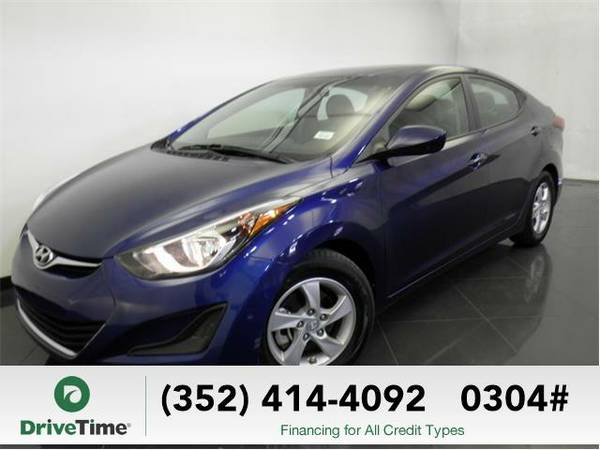 2015 Hyundai Elantra SE (BLUE) - Beautiful & Clean Title