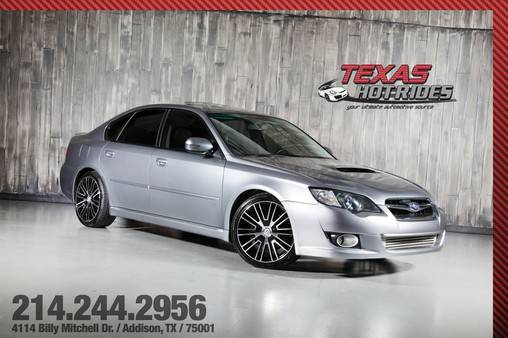 2008 Subaru Legacy GT Spec B With Many Upgrades