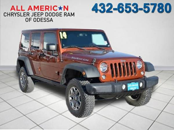 2014 JEEP WRANGLER UNLIMITED RUBICON 14,497 miles low mileage
