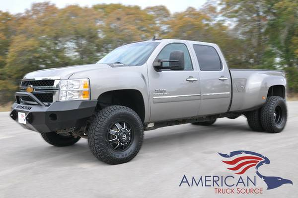 BAD TO THE BONE! 2013 CHEVY SILVERADO 3500! ONLY 97K-1OWNER-SWEET RIDE