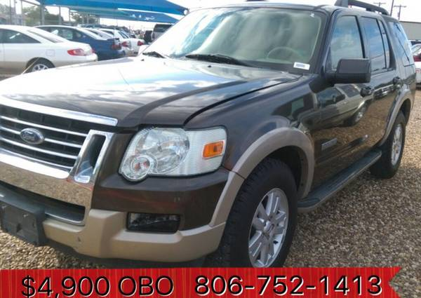 Quick Sale $4,900 08 Ford Explorer