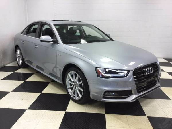 2015 AUDI A4 AWD 29K MILES!!! LEATHER LOADED SUN ROOF NAVIGATION!