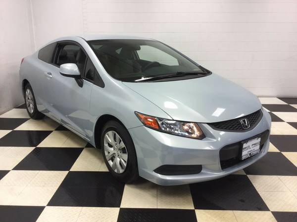 2012 Honda Civic Cpe LX SPORTY COUPE LOW MILES EXCELLENT CONDITION