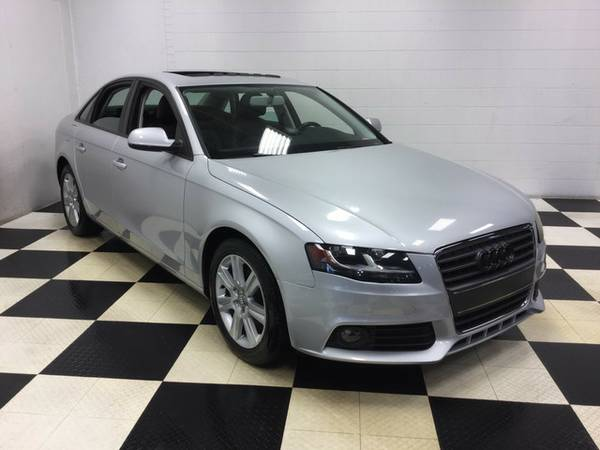 2010 AUDI A4 2.0T TURBO CHARGE!! SUNROOF LEATHER LOADED ONLY 63K MILES