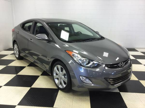 2013 Hyundai Elantra Limited OH YES ONLY 4K MILES FACTORY WARRANTY