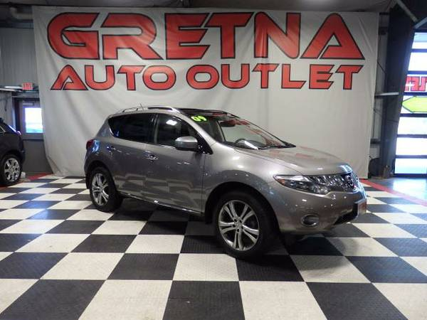 2009 Nissan Murano AWD NAVIGATION BOSE HEATED LEATHER MOONROOF