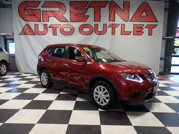 2015 Nissan Rogue S AWD LOW MILES ONLY 34K FULLY LOADED