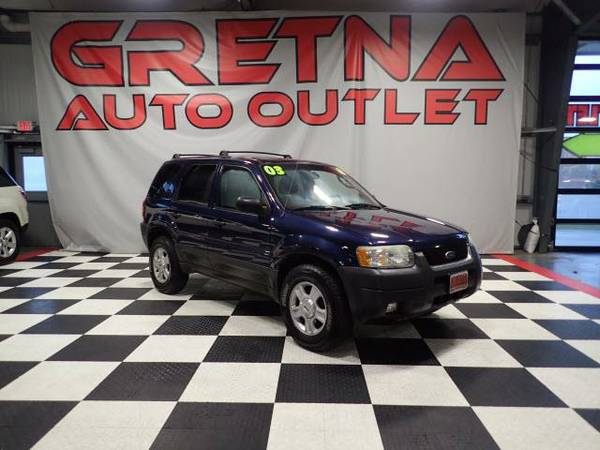 2003 Ford Escape XLT 4X4 NAVY BLUE 146K MOONROOF PIONEER SOUND