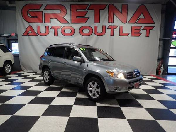 2007 Toyota RAV4 Limited 4WD LOW MILES 90K MOONROOF LOADED