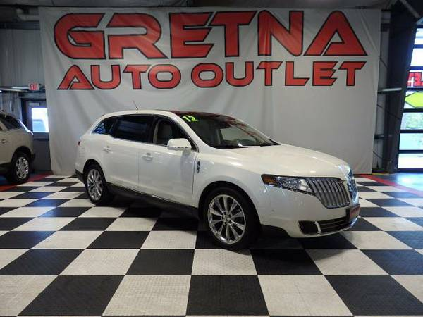 2012 Lincoln MKT AWD HEATED-COOLED LEATHER ROOF PWR 3RD ROW 63K