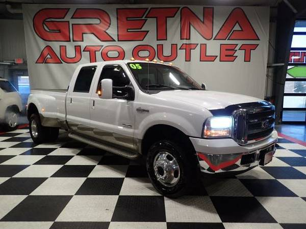 2005 Ford F-350 SD KING RANCH CREW DIESEL DUALLY 4X4 FX-4 PKG