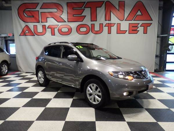 2012 Nissan Murano SL AWD 1 OWNER NAVIGATION DUAL ROOF LEATHER LOADED