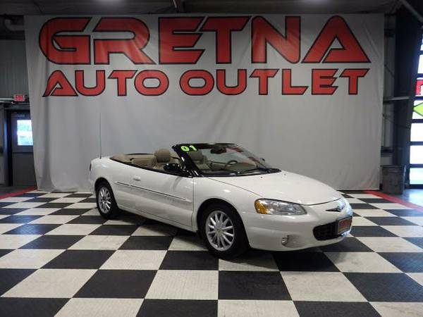 2001 Chrysler Sebring LXI CONVERTIBLE LOW MILES READY FOR FALL
