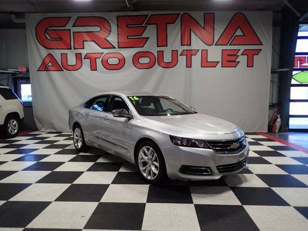 2016 Chevrolet Impala LTZ HEATED LEATHER NAVIGATION BLUETOOTH 1 OWNER