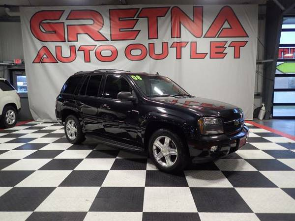2008 Chevrolet TrailBlazer LT 4X4 HEATED LEATHER NAVIGATON ROOF BOSE