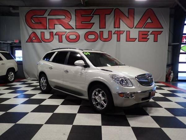 2009 Buick Enclave CXL AWD 83K HEATED LEATHER NAV-CAM DVD LOADED
