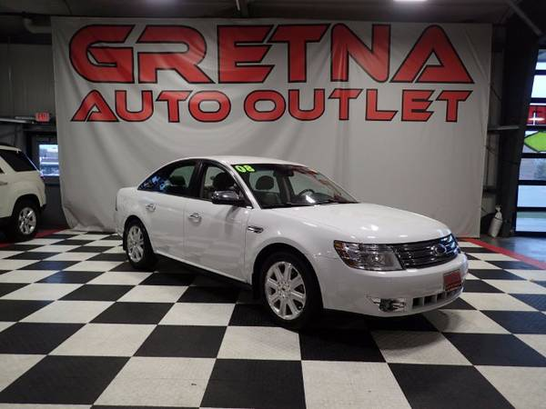 2008 Ford Taurus LIMITED V6 HEATED LEATHER LOW MILES 93K