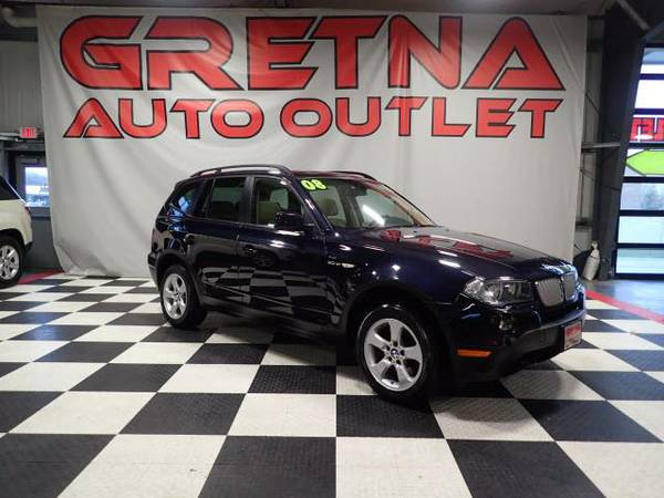 2008 BMW X3 3.0si AWD ALL SEATS HEATED PANORAMIC ROOF 102K