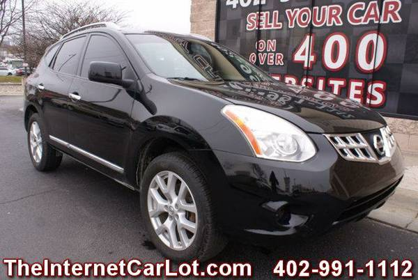 2011 NISSAN ROUGE SL AWD LEATHER HEATED SEATS SUNROOF NAVIGATION
