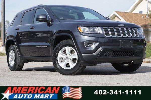 2014 JEEP GRAND CHEROKE LAREDO 4X4**OFF LEASE**CLEAN CARFAX**PWR SEAT*