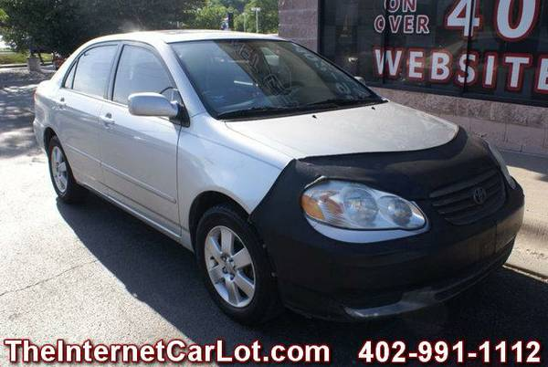 2004 TOYOTA COROLLA LE AUTOMATIC SUNROOF POWER WINDOWS LOCKS CRUISE