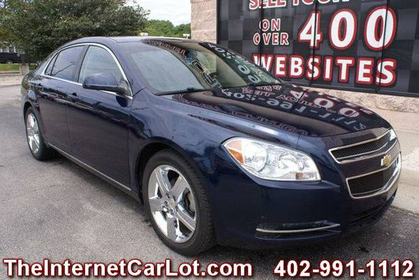 2011 CHEVROLET MALIBU 2LT LEATHER SUEDE HEATED SEATS POWER SEAT