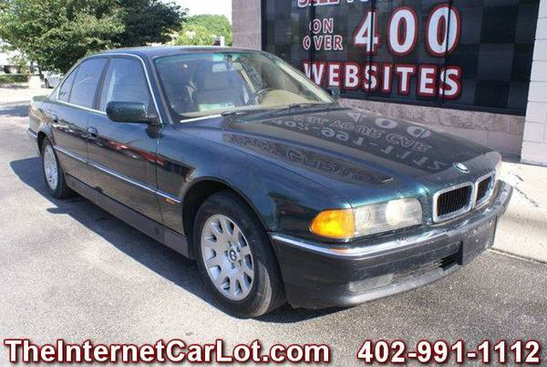 1995 BMW 740I SEDAN 4.0L V8 LEATHER HEATED SEATS MEMORY SEATS LOADED
