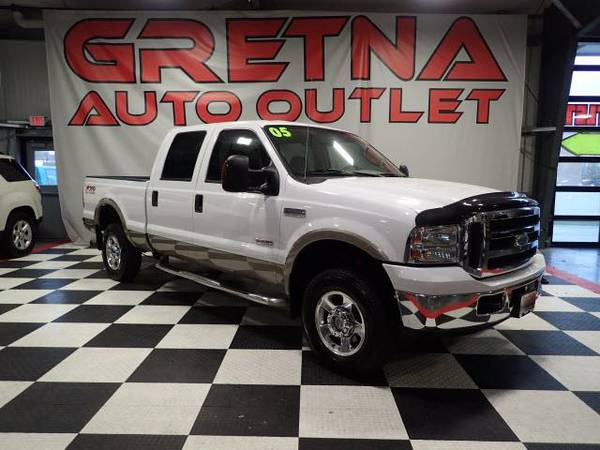 2005 Ford F-250 SD LARIAT CREW CAB DIESEL FX-4 OFF ROAD 102K