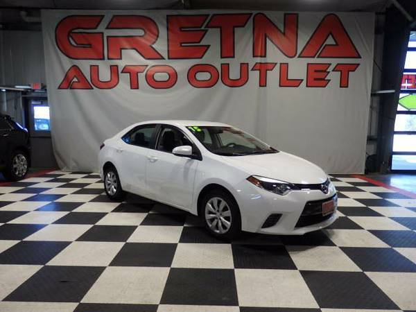 2015 Toyota Corolla LE 1 OWNER 41K BACK UP CAMERA BLUETOOTH