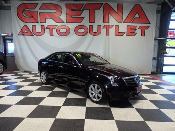 2013 Cadillac ATS LUXURY LOADED UP NAV ROOF BACK UP CAM ONLY 28K