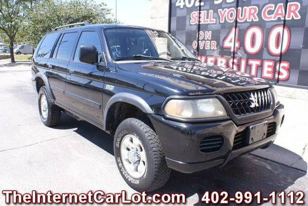 2002 MITSUBISHI MONTERO SPORT ES 4X4 AUTOMATIC 3.0L V6 POWER WINDOWS