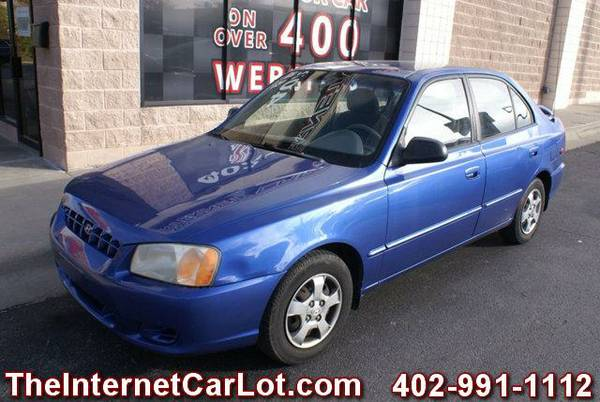 2000 HYUNDAI ACCENT GL SEDAN AUTOMATIC POWER WINDOWS AC TILT NICE