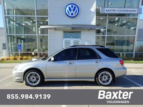 2005 Subaru Impreza Station Wagon 2.0 WRX Sport Manual