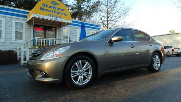 2011 Infiniti G37 Sedan - 59k Miles, Leather, Bose, Nice