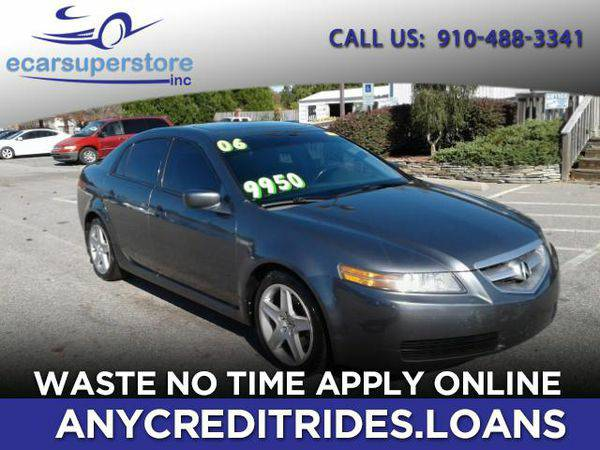 2006 *Acura* *TL* 5-Speed AT You're Approved or Car is *Free*