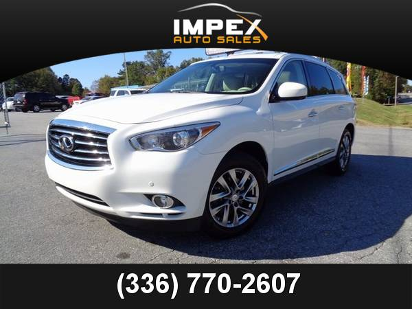 2013 *Infiniti* *JX35* 4WD V6 One Owner CARFAX Third Row Seats 13