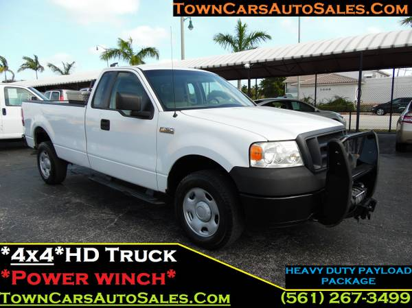 Ford F150 HD *4X4* Extended Cab F150 Pickup Truck Utility Work Truck