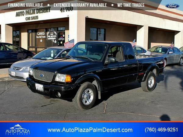 2003 Ford Ranger Edge Pickup only at Auto Plaza Palm Desert