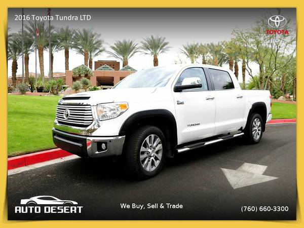 2016 Toyota Tundra LTD Pickup with a GREAT COLOR COMBO!